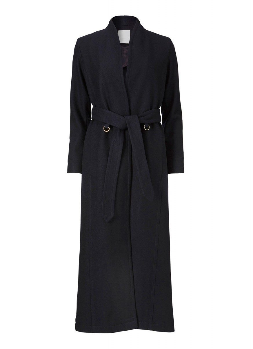 Avigna coat dark navy