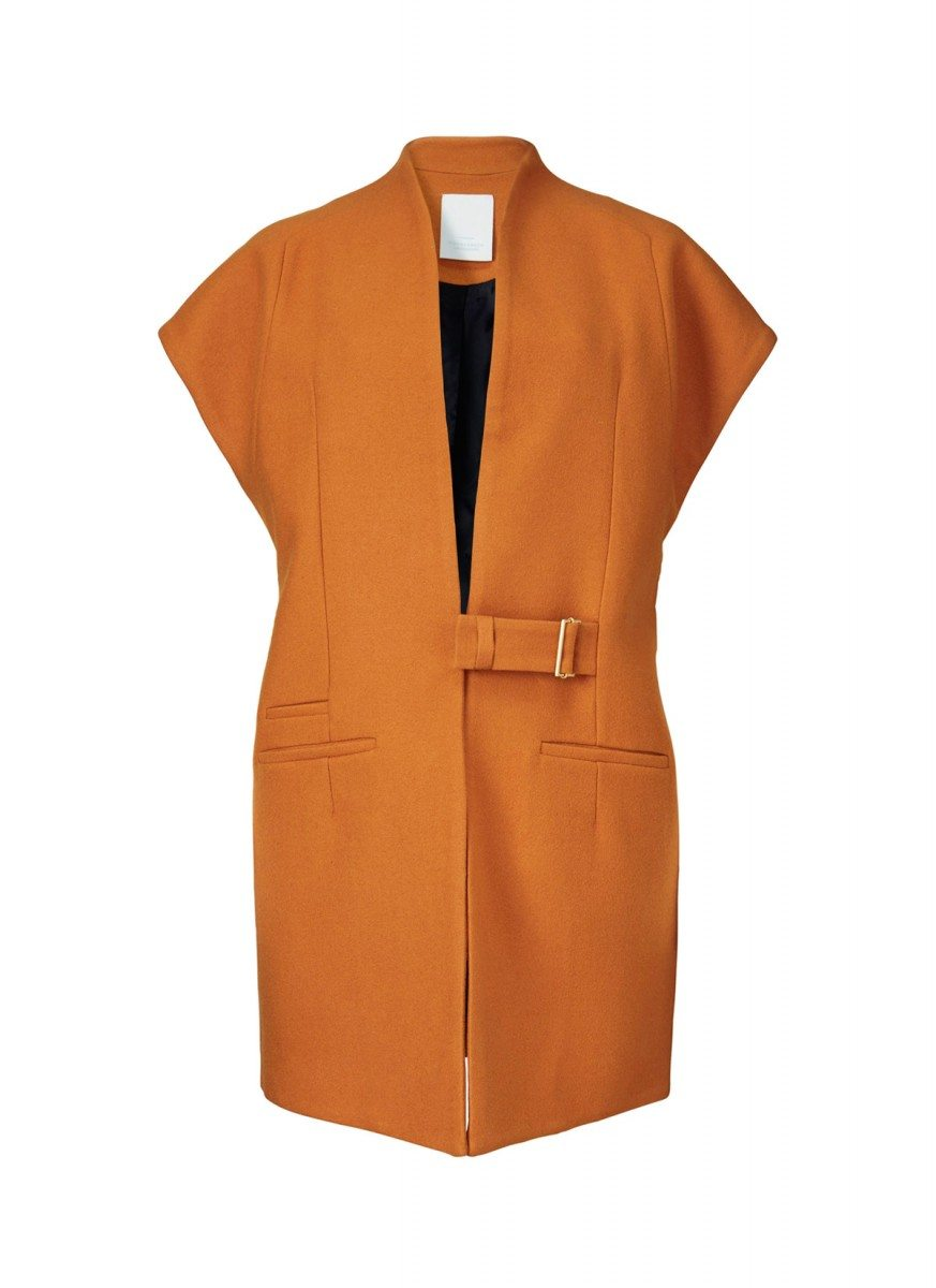 Abree jacket – orange ember