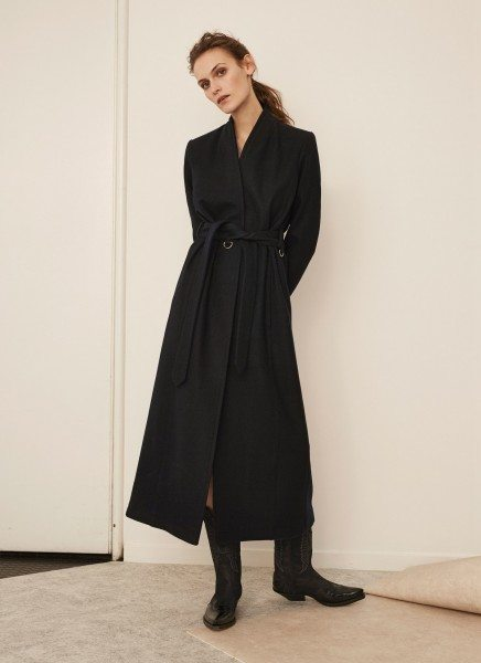 Avigna coat – dark navy