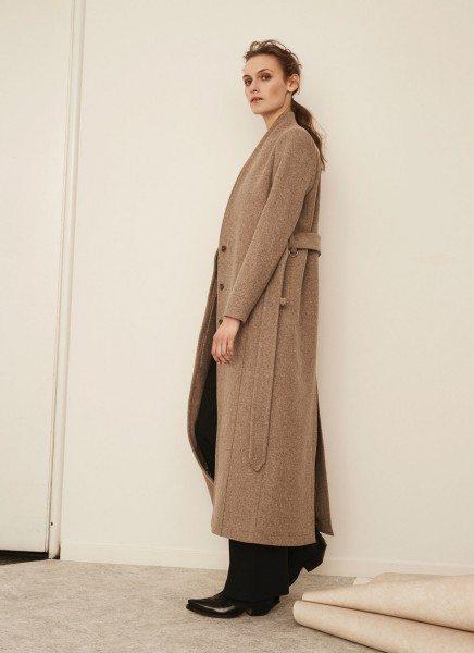Avigna coat – nature melange