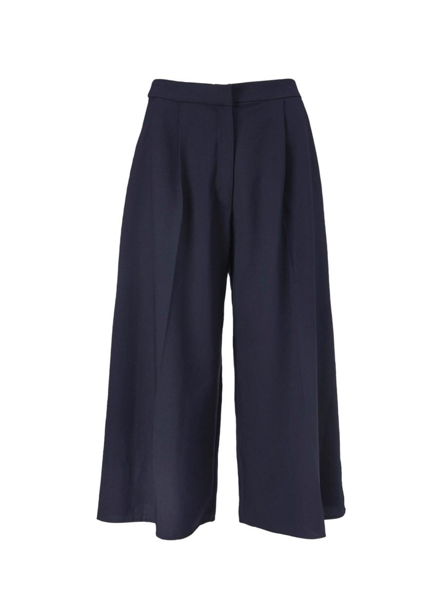 Bridget culotte pants dark blue