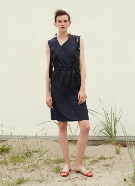 Masozi Dress Dark Blue