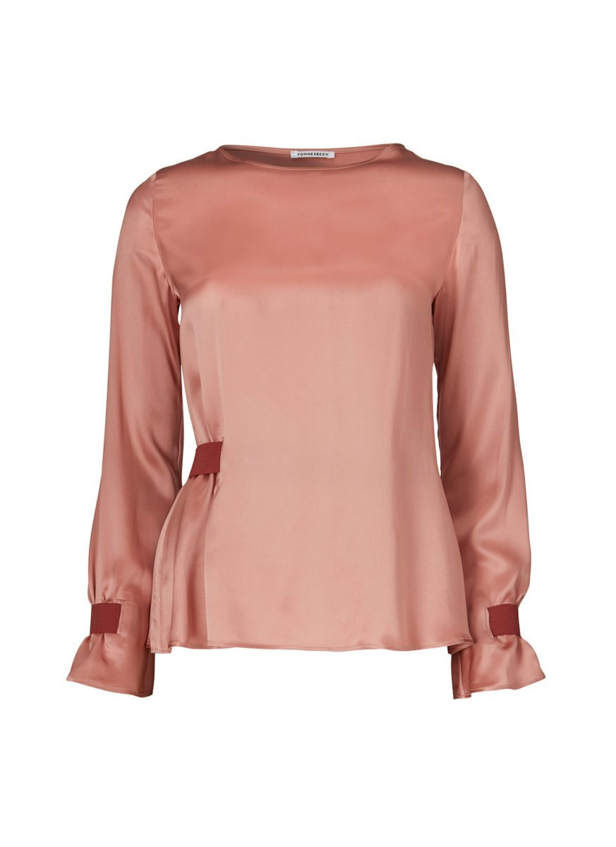 Edda Blouse Warm Rose