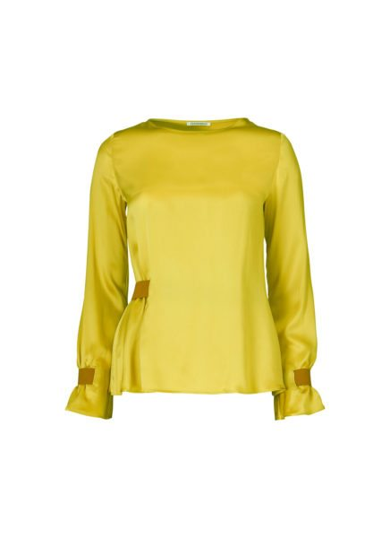 Edda Blouse Acid Green