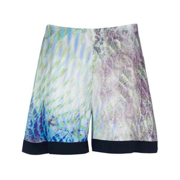 Dentelle shorts print