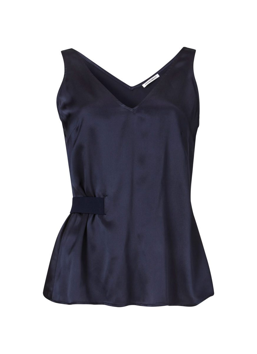 Lilly top dark blue